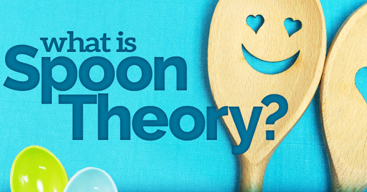 New Life Outlook - Anxiety Infographic: Anxiety and the Spoon Theory